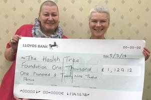 'i wanted to control when i lost my hair' - breast cancer patient raises more than £1,000 with head shave
