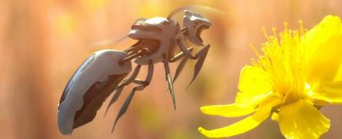 Autonomous Robot Bees Are Being Patented by… Walmart?