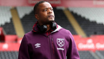 patrice evra says football is in his dna & wants to lead by example at west ham