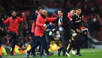 Sevilla Boss Vincenzo Montella 'Proud' After Historic Champions League Win Over Manchester United