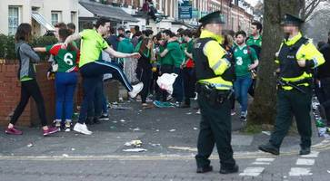 police issue warning ahead of st patrick's day festivities in belfast