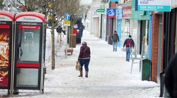 Weather warning of snow and ice for Northern Ireland