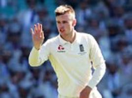 mason crane ruled out of england's test series in new zealand