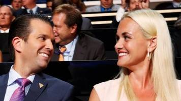 vanessa trump files for divorce from donald trump jr - us media