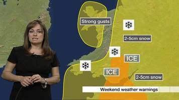 Snow, ice and wind weather warnings issued for Wales
