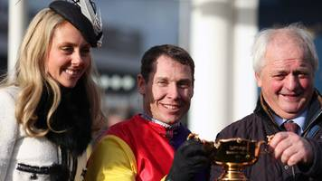 cheltenham festival: gold cup-winning trainer colin tizzard completes fairytale