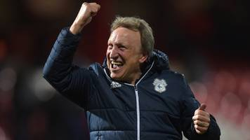 Neil Warnock: Gary Rowett says Cardiff boss is Championship manager of season so far