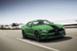 top o' the morning, there's a new green color for the ford mustang