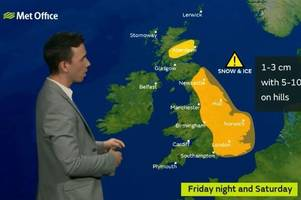 Weather warning upgraded as snow blizzards and freezing winds forecast for North East Lincolnshire