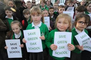 green oak school closure: parents and teachers 'angry and heartbroken' as they feel the decision to close the school has 'already been made'
