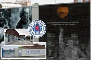 rangers to create memorial garden that will pay tribute to 66 fans who lost their lives at ibrox