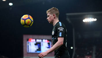 kevin de bruyne admits manchester city hoping to wrap up premier league title against rivals