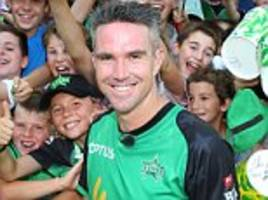 kevin pietersen calls time on career: 'boots up! thank you!'