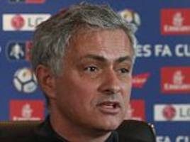 jose mourinho's 12-minute speech was self-pitying claptrap
