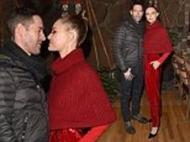 kate bosworth puts on a loved up display with husband michael polish