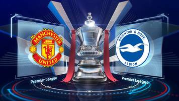 watch highlights: man utd beat brighton to reach fa cup semis