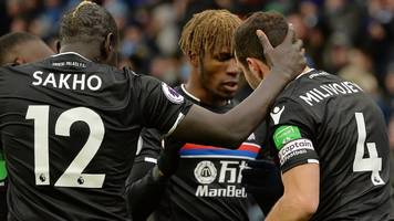 palace out of bottom three after win at huddersfield