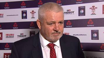 six nations 2018: warren gatland congratulates ireland but sympathises with eddie jones