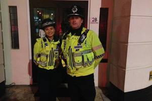we joined police on patrol on gold cup night in cheltenham and this is what we saw