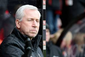 this player's dad is not very impressed with west brom boss alan pardew