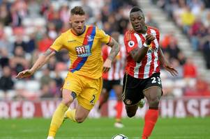 crystal palace boss urges caution over former sunderland striker as he steps up his recovery after injury