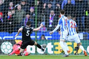 half time player ratings: tomkins on target as crystal palace lead huddersfield town at the break