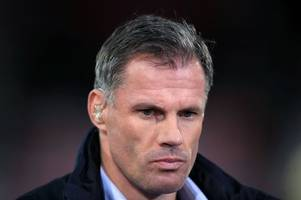 he really spat the dummy out... but enough about jamie carragher