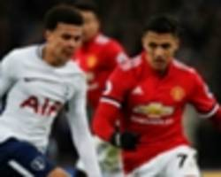 fa cup semi-final draw: man utd to face tottenham at wembley