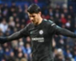 'he showed great character' - conte impressed by morata's return to scoring form