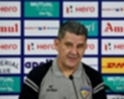 isl 2017/18: john gregory- albert roca was wonderful with the words we shared at the final whistle