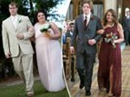 bridesmaid loses half her body weight after seeing unflattering pics