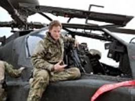 prince harry sprayed taliban with bullets while rescuing us soldiers