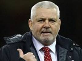 wales coach warren gatland eyes world cup glory