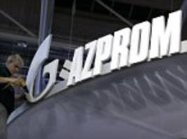 russian firm gazprom used london money markets to raise nearly £700m