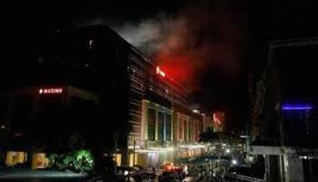 four killed as fire hits hotel in philippine capital