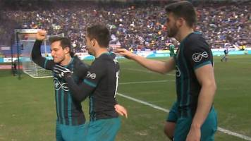 fa cup: cedric soares seals southampton win at wigan