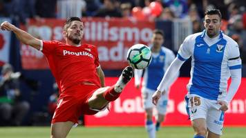 Sevilla suffer post-Champions League slump at Leganes