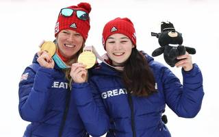 slalom gold as team gb hit winter paralympics target