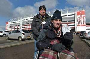 terminally-ill stoke city fan returns to see his beloved potters in action - and being there meant more than the result