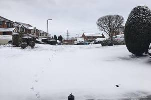 Beast from the East 2: Weather alert as temperature will feel like minus eight today