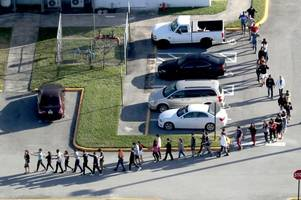 midlands teen caught up in florida shooting says teachers should not be first line of defence