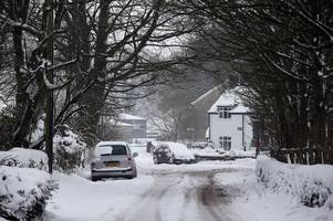 Beast from the East 2: The Met Office extends amber warning for snow in Somerset and Devon