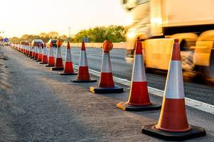 all the roadworks and closures on the m11, m25, m1 and a1(m) in hertfordshire and essex next week