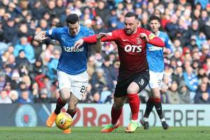 completing rangers move is just a formality and every game is huge at ibrox insists loan star jamie murphy