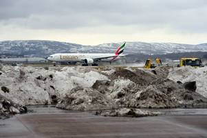 scots urged to check flights as beast from the east return causes travel chaos