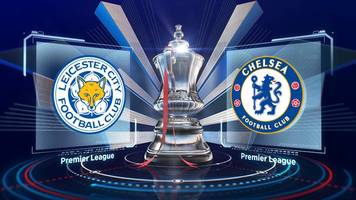 FA Cup: Leicester 1-2 Chelsea (aet) highlights