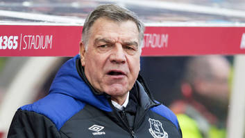 sam allardyce hails 'complete' striker cenk tosun as everton grind out win over stoke