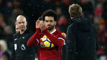 video: cameras catch what mohamed salah told watford keeper following 4-goal show at anfield