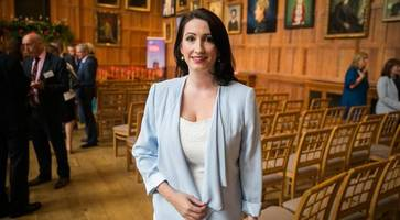 dup mp pengelly posts st patrick's day message in irish