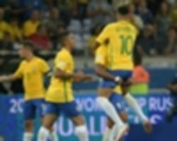 brazil to meet croatia in england and austria in vienna